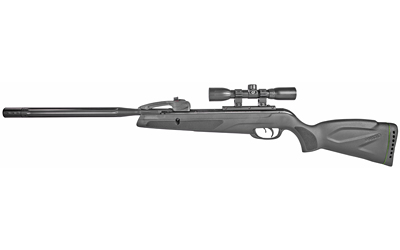"Gamo Swarm Whisper .22 Pellet 975 Feet Per Second 19"" Barrel Black Color Synthetic Stock w/4x32 Scope 10Rd 611006875554"