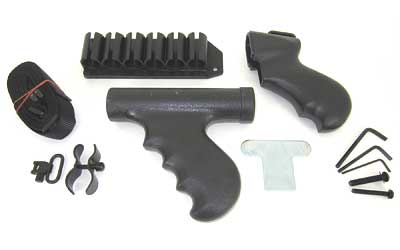 TacStar Conversion Kit Front & Rear Grip, Sidesaddle, Sling, Barrel ClampQD Sling Swivel Rem 870 1081147 at Sears.com